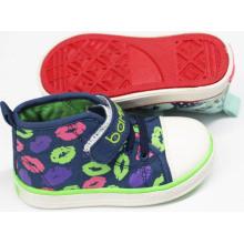 Zapatos calientes del bebé de los zapatos de bebé de la venta con la sola cómoda (SNB-18-0011)