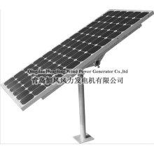 système de panneau solaire, système hybride solaire éolien