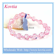 Wholesale alibaba charm crystal bead bracelet bangle