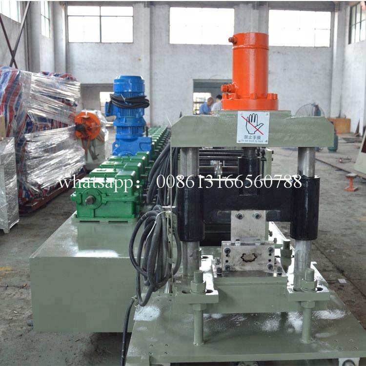 Vineyard Metal Post Forming Machine