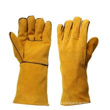 Heavy Duty Heat Resistant Hand Proctection Welding Gloves for Welders