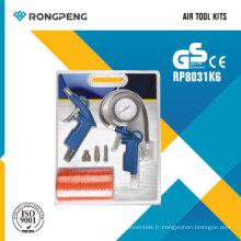 Kits d'outils pneumatiques Rongpeng R8031k6 6PCS