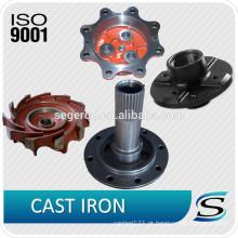 todos os tipos de produtos de ferro fundido
