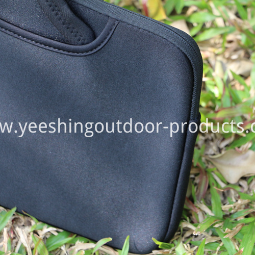 Sample Sample Black Laptop Sleeve
