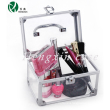Transparent Acrylic Cosmetic Makeup Vanity Case (HX-C3330)
