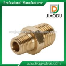 Zhejiang empresa de alta qualidade e preço competitivo forjado 1/4 ou 1/8 polegadas npt macho bronze redução mamilo