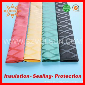 Replace Woer yellow x-tube heat shrink wrap tubing for Fishing Rod