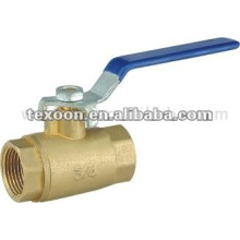copper threaded standard port brass ball valves lever handle Leaded or Lead free