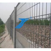 Alambre de doble malla soldada con malla (tianshun)