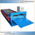 Hoja de techo trapezoidal de acero que forma la maquinaria Fabricante
