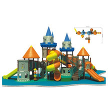 Solid Backyard Safe Outdoor Lldep Plastic Kids Castle Playground Equipment
