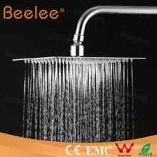 Tête de douche carrée en acier inoxydable Ss 304
