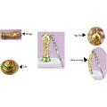 2015 Förderung-Art- und Weiserotations-Metall Keychain