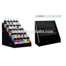 ADShi Large Black Tattoo Ink Display Stand Organisateur de rack à 5 niveaux ADS-ACS-0728
