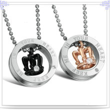 Mode-Geschenke Edelstahl-Mode-Halskette (NK127)