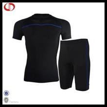 Kundenspezifischer Sport-Kompressions-Anzug für Männer
