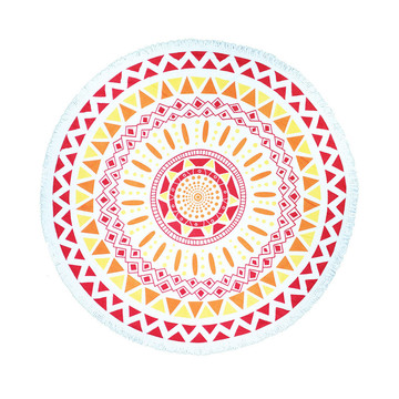Cheap price for Round Towel Super Cheap Printed  Large Round Beach Towel supply to Montenegro Factories