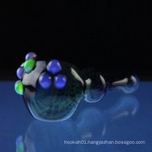 Glass Poison Lagoon Spoon for Smoking with Slyme Bumps (ES-HP-069)