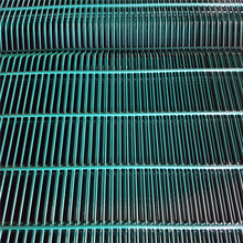 PVC coating 358 mesh fence anti climbing fence used in construction