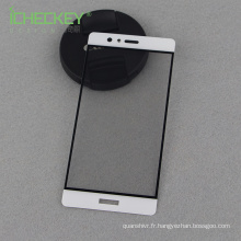 Usine de Shenzhen sous le choc !!! Pour le protecteur d'écran en verre trempé à couverture totale de Huawei P9 2.5D