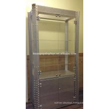 Floor Standing Metal Acrylic Display Showcase For Sale, Custom Sunglass Showcase Display Cabinets