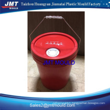 Plastic injection 25L bucket mould maker