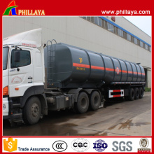 6 Compartimientos 50 Cbm 3 Axles Fuel Tanker Trailer
