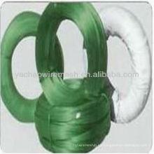 Varios colores alambre recubierto de PVC / plástico recubierto de alambre