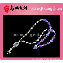 Fashion Handmade Crystal Bling Neck Lanyard For Id Card