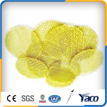 15mm Messingfilterscheibe, Messinggitter, Messing Filterscheibe
