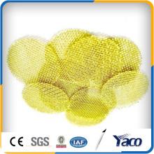 Disco de filtro de latón de 15 mm, malla de malla de latón, disco de filtro de latón