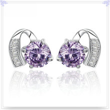Pendiente de cristal joyería de moda 925 joyas de plata esterlina (se064)