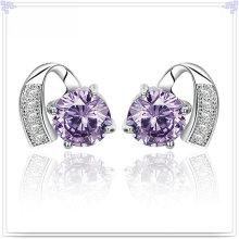Brinco de cristal moda jóias 925 jóias de prata esterlina (se064)
