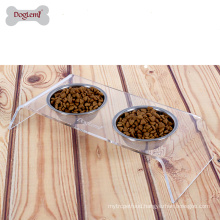 Best selling Stainless Steel stockl Iron Stand Eco-Friendly Pet Bowl