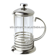 Glaskrug Cappuccino French Press Kaffeemaschine