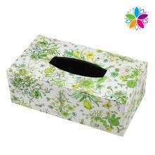 Boîte en tissu en cuir rectangulaire créative (ZJH070)