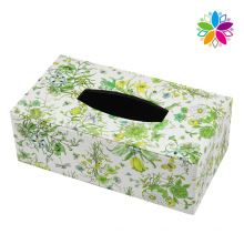 Creative Rectangle Leather Tissue Box (ZJH070)
