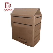 Изготовленный на заказ профессиональный производство дешевых фруктов рифленая коробка коробки