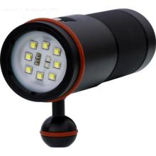 High Lumen 5000 lumen aluminum led Portable Underwater brightest diving torch