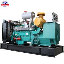 Зеленый генератор Бензиновый мощность 120квт 6140D газовый генератор