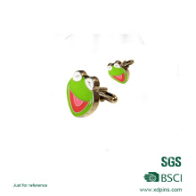 Enlace de puño personalizado del logotipo de la rana impresa