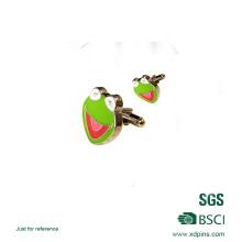 Подгонянный Напечатанный Логос Лягушка Запонки