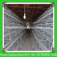 H type 3 tiers poultry farm design layer chicken cages for 120 chickens/hens/birds