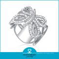 Anel de prata de alta qualidade da forma do noivado (SH-R0044)