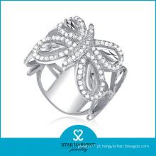 Alta qualidade prata anel de noivado de moda (sh-r0044)