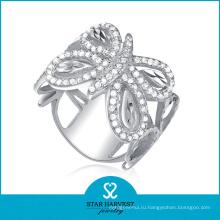 Кольцо способа заволакивания высокого качества серебряное (SH-R0044)