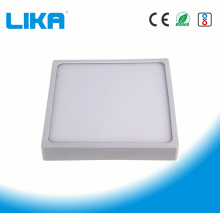 12W Integrated Rimless Square Surface Mounted Panel Light
