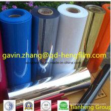 0.03mm-0.65mm Imprimible Colorido Opaco Mate PVC Rígido Película