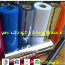 0.03mm-0.65mm Printable Colorful Opaque Matt PVC Rigid Film