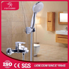 Brass chrome fashion bath shower faucet